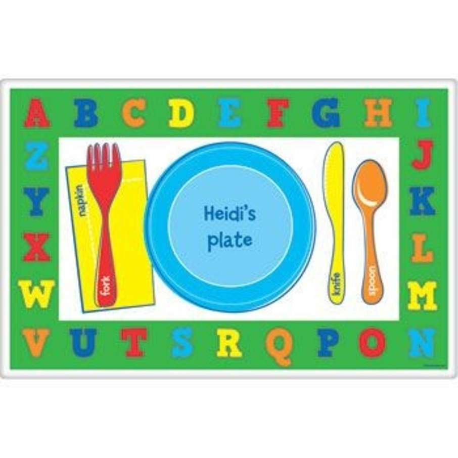 View larger image of Alphabet Personalized Placemat (each)