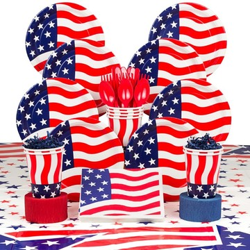 American Flag Deluxe Kit (Serves 8)