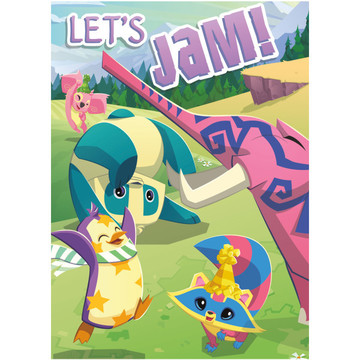 Animal Jam Invitations (8)