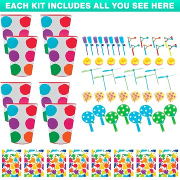 Art Party Favor Kit (for 8 Guests)