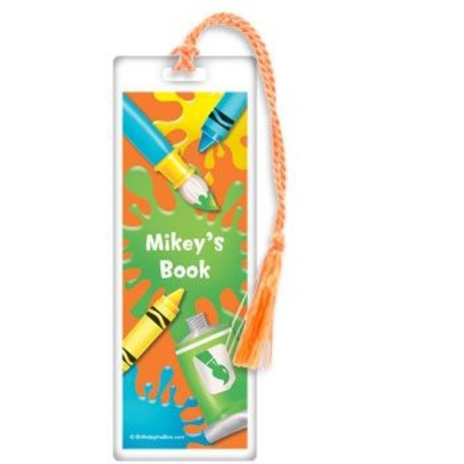 View larger image of Art Personalized Bookmark (each)