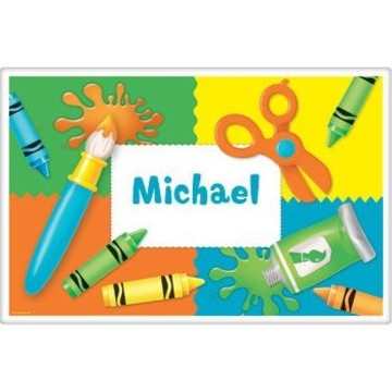 Art Personalized Placemat (each)