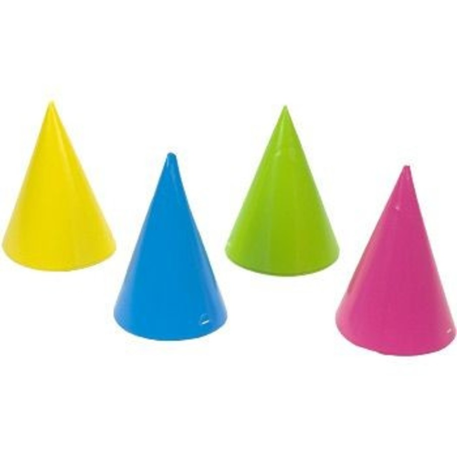 View larger image of Assorted Bright Color Party Hats (8-pack)