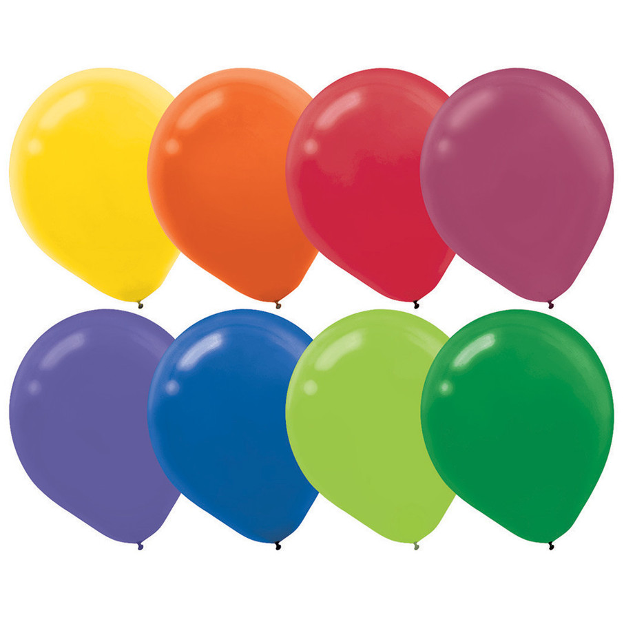 View larger image of Assorted Colors Latex Balloons (72 Count)