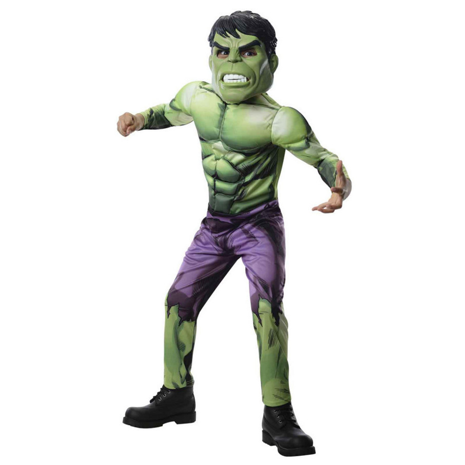 View larger image of Avengers Assemble Deluxe Hulk Kids Costume