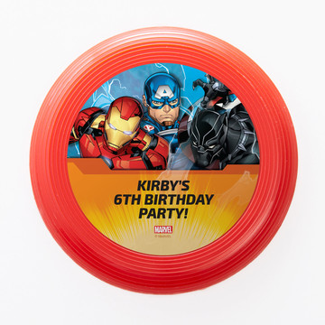 Avengers Personalized Mini Discs (Set Of 12)