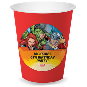 Avengers Set 2 Personalized Cups (8)