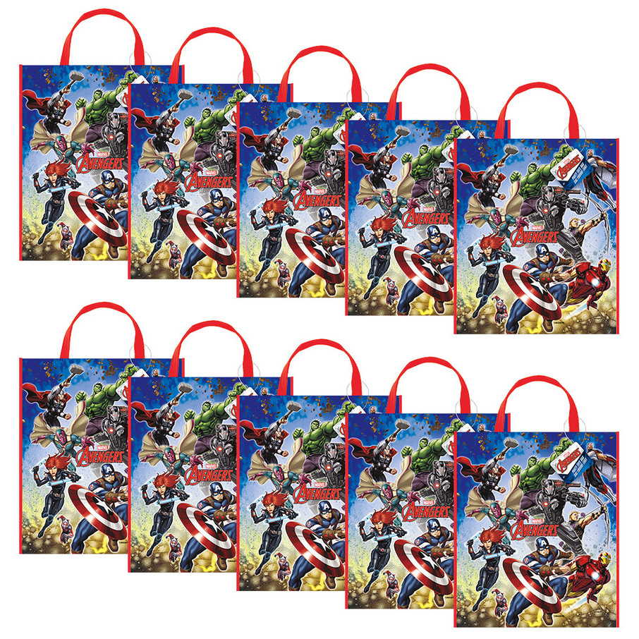 View larger image of Avengers Tote Bag (Set of 10)