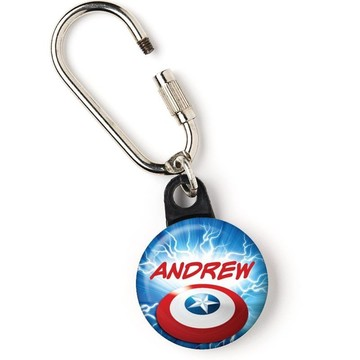 "Avenging Heroes Personalized 1"" Carabiner (Each)"