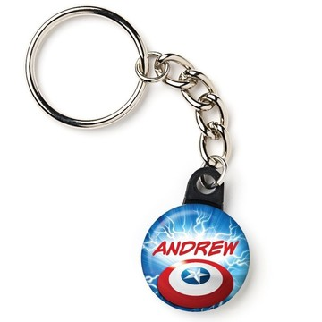 "Avenging Heroes Personalized 1"" Mini Key Chain (Each)"