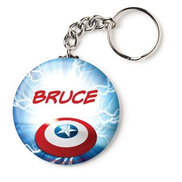 "Avenging Heroes Personalized 2.25"" Key Chain (Each)"