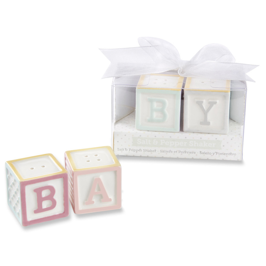View larger image of Baby Blocks Salt and Pepper Shakers