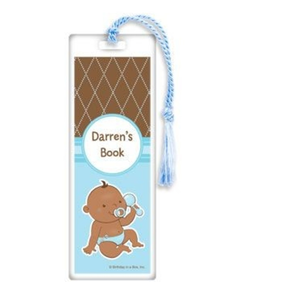 View larger image of Baby Boy - African American Personalized Bookmark (each)