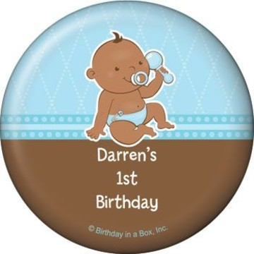 Baby Boy - African American Personalized Magnet (each)