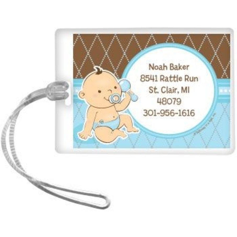 View larger image of Baby Boy Personalized Luggage Tag (each)