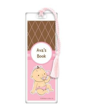 Baby Girl Personalized Bookmark (each)