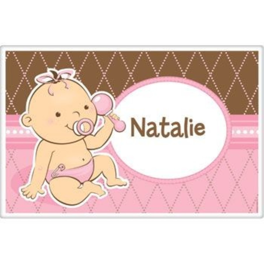 View larger image of Baby Girl Personalized Placemat (each)