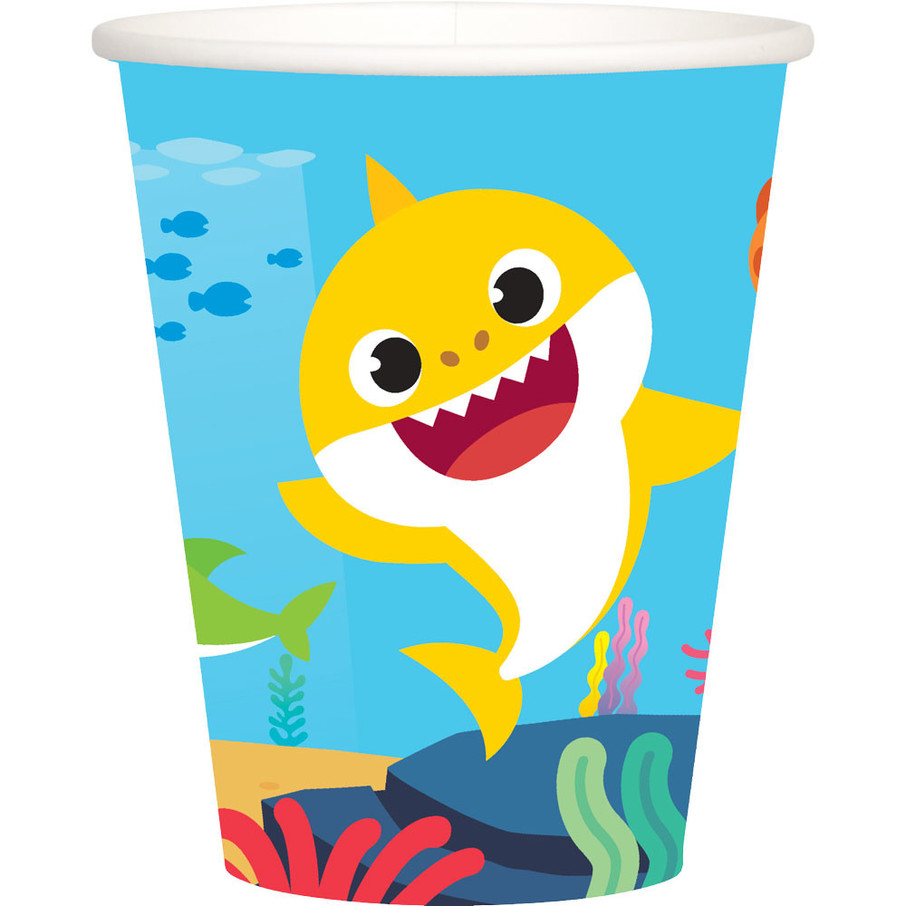 View larger image of Baby Shark 9oz Cups