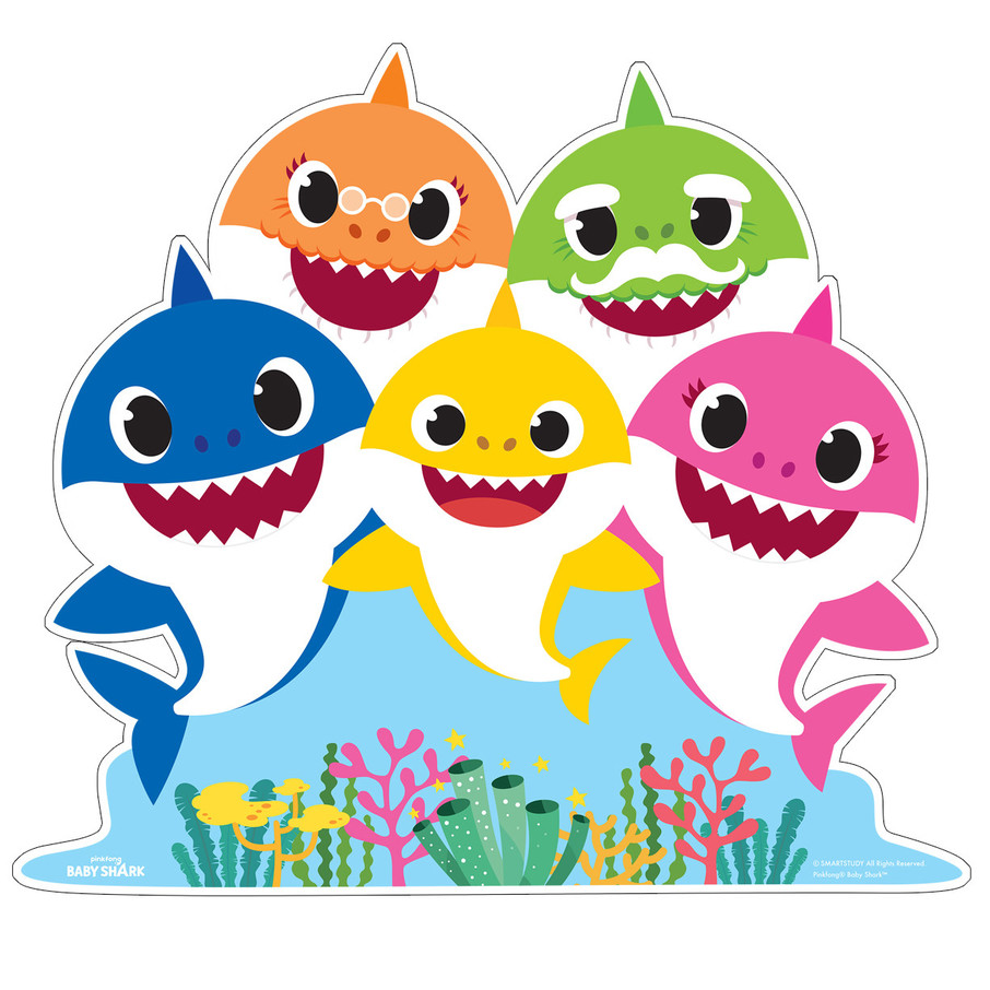 View larger image of Baby Shark Family Standup