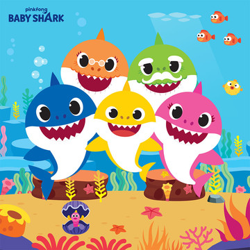 Baby Shark Lunch Napkins (16)