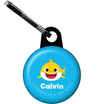 Baby Shark Personalized Zipper Pull