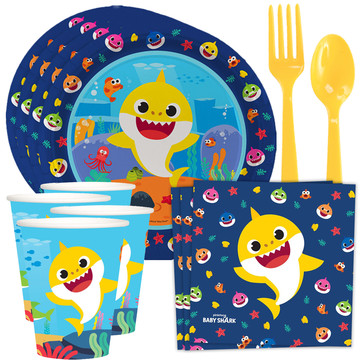 Baby Shark Tableware Kit (Serves 8)