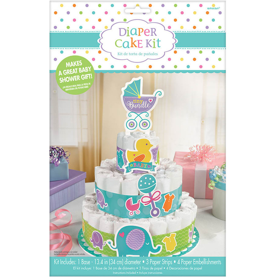View larger image of Baby Shower Diaper Cake Kit