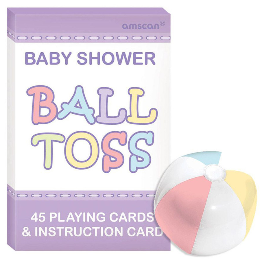 View larger image of Baby Shower Question Ball Game (Each)