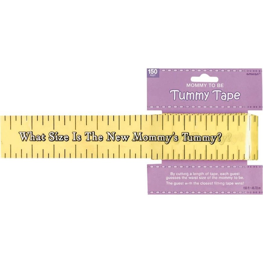 View larger image of Baby Shower Tummy Measure Game (Each)
