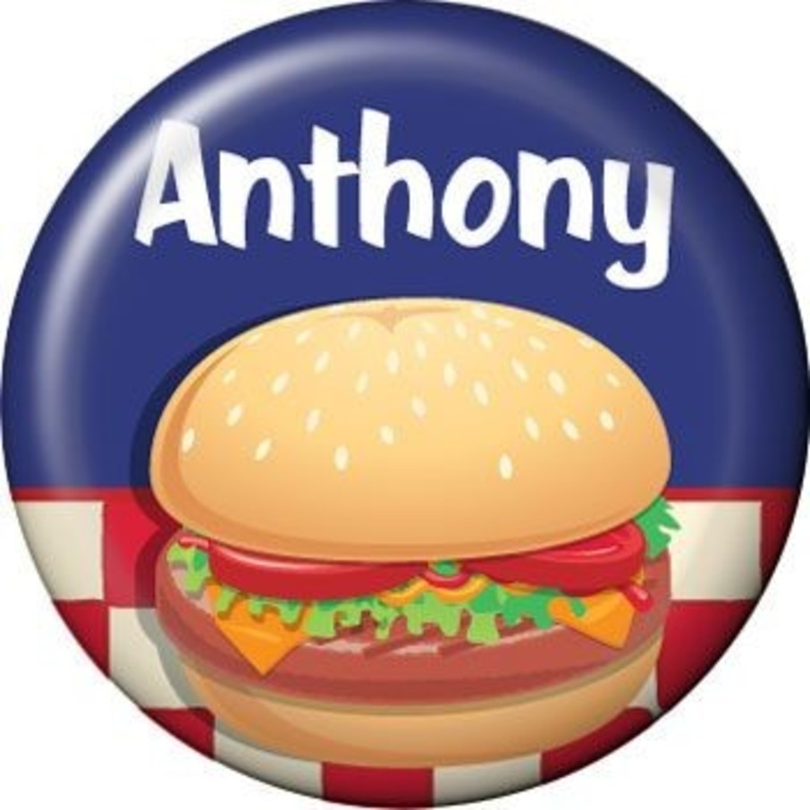 View larger image of Backyard Bbq Personalized Mini Magnet (each)
