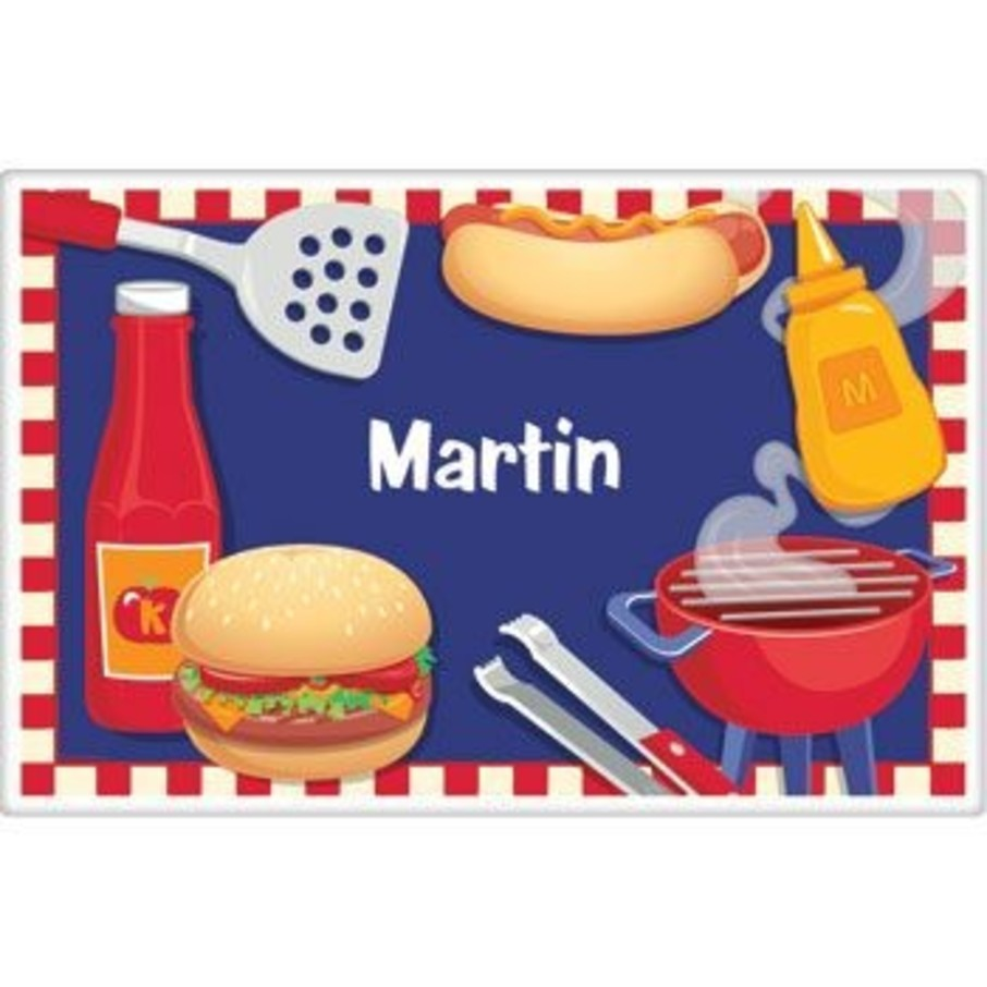 View larger image of Backyard Bbq Personalized Placemat (each)