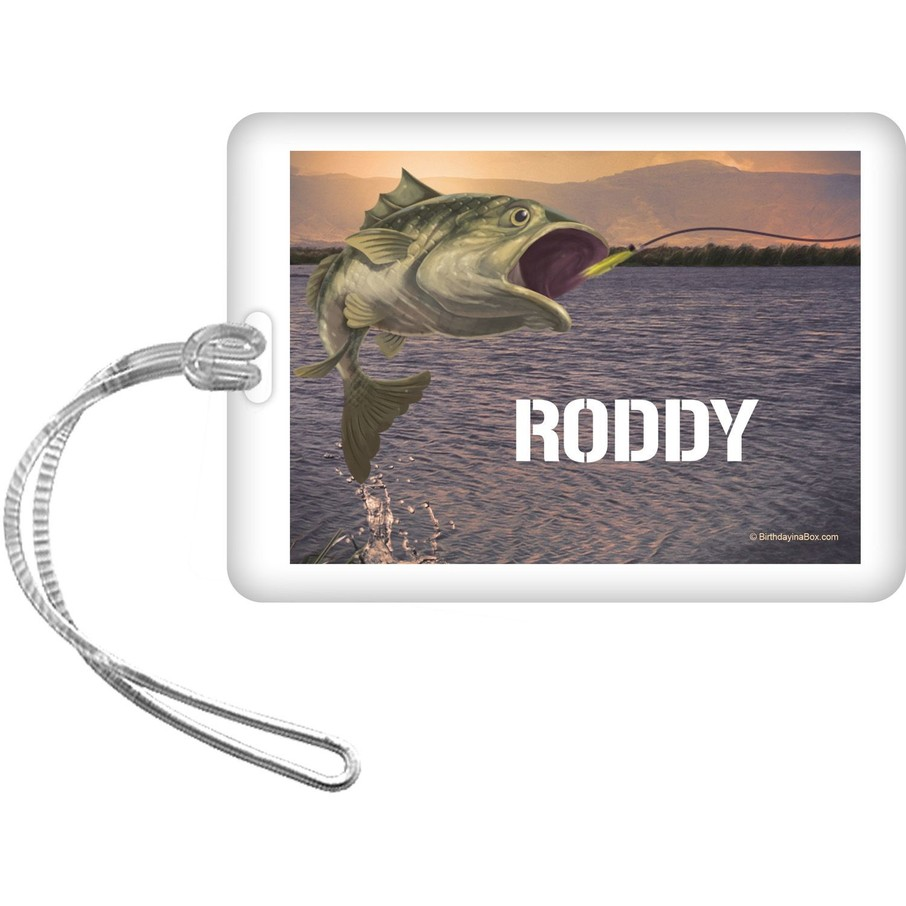 View larger image of Bait 'N Hook Personalized Bag Tag (Each)