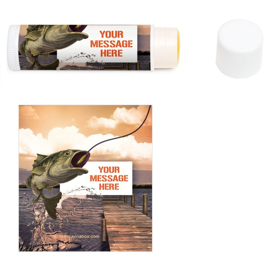 View larger image of Bait N Hook Personalized Lip Balm (12 Pack)