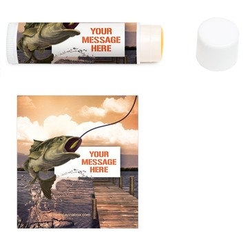Bait N Hook Personalized Lip Balm (12 Pack)