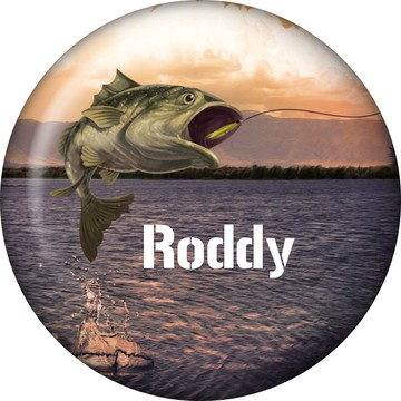 Bait 'N Hook Personalized Magnet (Each)