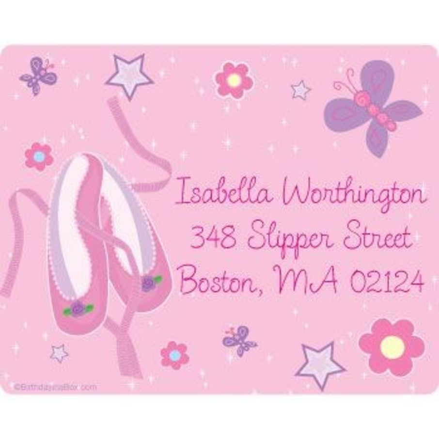 View larger image of Ballet Personalized Address Labels (sheet of 15)