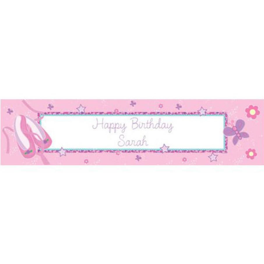 View larger image of Ballet Personalized Banner (each)