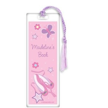 Ballet Personalized Bookmark (each)