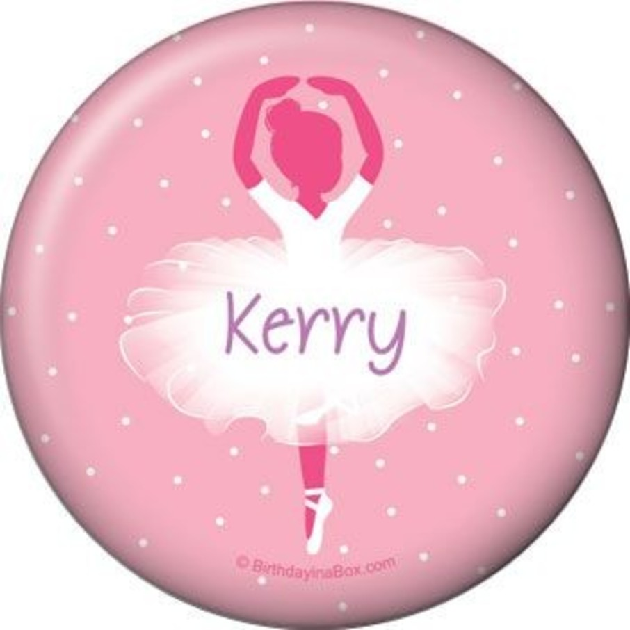 View larger image of Ballet Personalized Button (each)