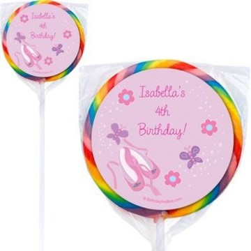 Ballet Personalized Lollipops (pack of 12)
