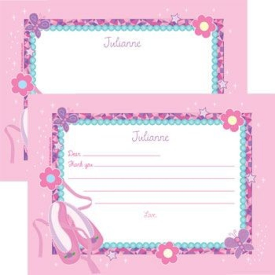 View larger image of Ballet Personalized Thank You Note (each)