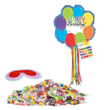 Balloon Bash Birthday Pinata Kit