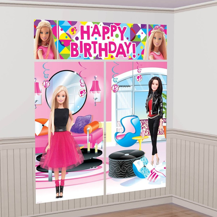 View larger image of Barbie Sparkle Wall Decorating Kit