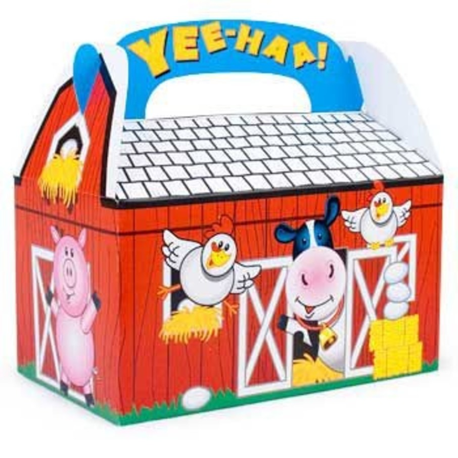 View larger image of Barn Favor Box (8-pack)