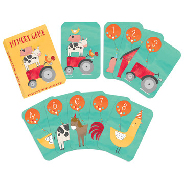 Barnyard Birthday Memory Game Favors (8)