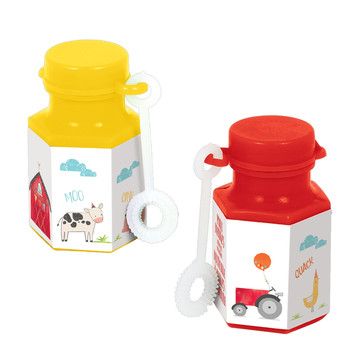 Barnyard Birthday Mini Bubble Favors (8)