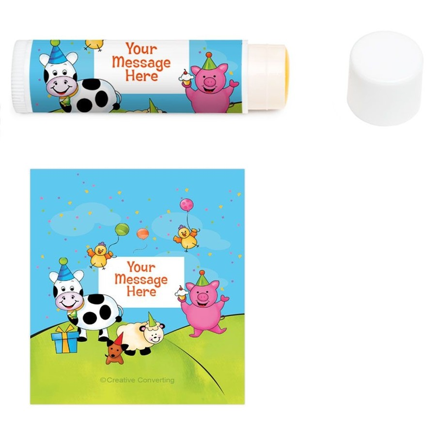 View larger image of Barnyard Personalized Lip Balm (12 Pack)