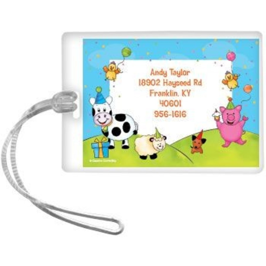 View larger image of Barnyard Personalized Luggage Tag (each)