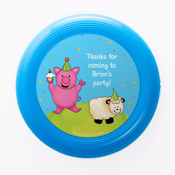 Barnyard Personalized Mini Discs (Set of 12)