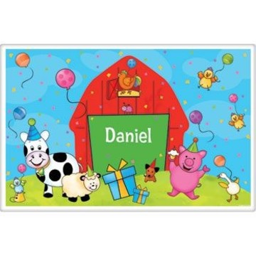 Barnyard Personalized Placemat (each)